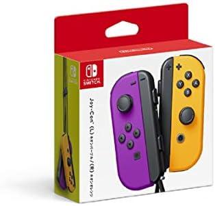 Nintendo Neon Purple Neon Orange Joy Con L R Switch Japan Import product image