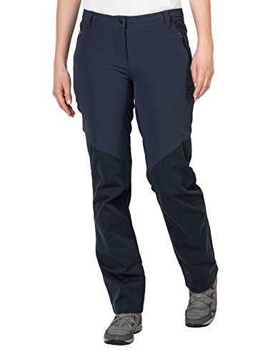 Jack Wolfskin Damen Drake Flex Pants Women Damenhose, Midnight Blue, 36