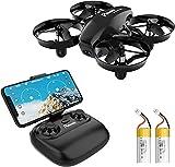 Potensic Mini Drone con Telecamera Telecomando Quadricottero WiFi...