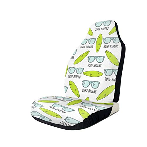 Paedto Gafas Surf Riders Universal Fit Funda impermeable para asiento de coche Fundas clásicas para asiento de coche Lavable Easy Fit