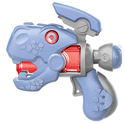Carga de diversión Juguete infantil Pistola eléctrica Sound fresco y luz ocho pistola de sonido para niños 1-30 años de edad bebé dinosaurio pistola plástico imitación eléctrica divertido juguete Ayud
