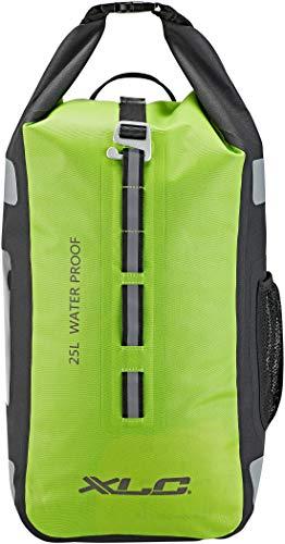XLC Unisex– Erwachsene Pendlerrucksack wasserdicht Packtasche, neongrün, 1size