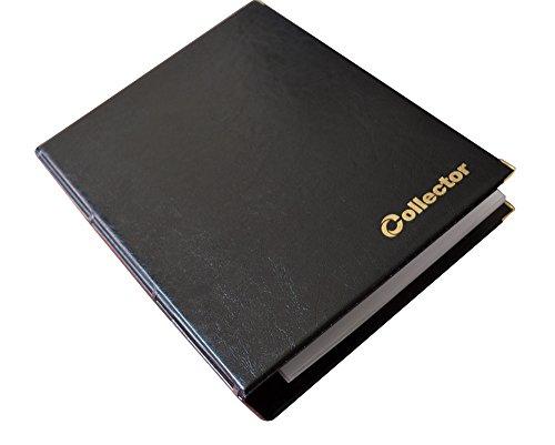 Banconote, Album Cartella, Libro per Banconote, con 15 Pagine E 15 DIVISORI – Alta capacità Nero