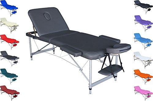 POLIRONESHOP MERCUR Massageliege behandlungsliege massagebank aluminium leicht