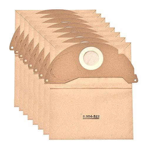 JZROME 8 pièces 6.904-322.0 Sac d'aspirateur pour Kärcher