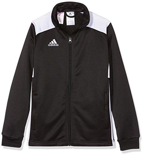 adidas Kinder REGI18 PES JKTY Sport Jacket, Black/White, 1112