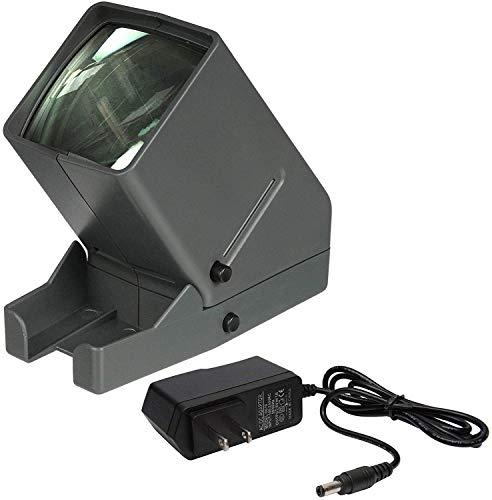 Zuma SV-3 Z-SV-3K - Visor de Diapositivas LED (35 mm, Adaptador de CA de 110 a 6 V CC, 500 mA)