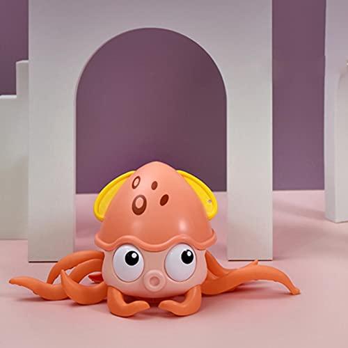 Juguete de baño de bebé juguete de baño de pulpo juguetes educativos de agua para niños pequeños adecuados para niños de 1, 2 y 3 años de edad y niñas