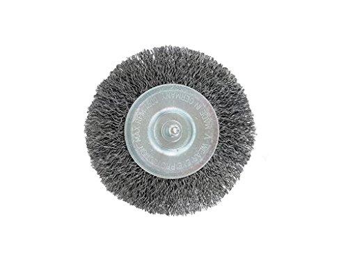 motodox Fugenbürste Ersatz Rundbürste 2X Stahldraht Made in Germany passend für SKIL Weed Brush WeedBuster Elektro Fugenbürste