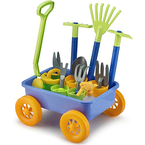 Liberty Imports Garden Wagon & Tools Toy...