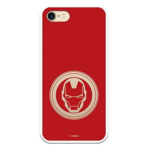 Cover per iPhone 7 - iPhone 8 - iPhone SE 2020 ufficiale Marvel Iron Man Martello per proteggere il tuo cellulare Cover per Apple in silicone flessibile con licenza ufficiale Marvel.