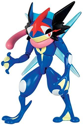 KIJIGHG Pokemon Ash Ketchum Greninja 15cm PVC Figura de Anime Figuras de acción Modelo de Personaje de Anime