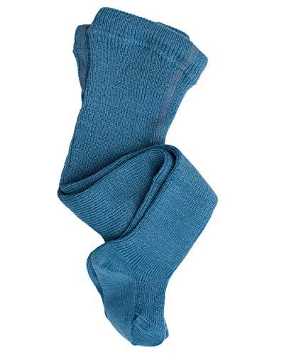 GRÖDO, Baby/Frühchen Strumpfhose, 100% Wolle (kbT) (68/74, Bergblau)