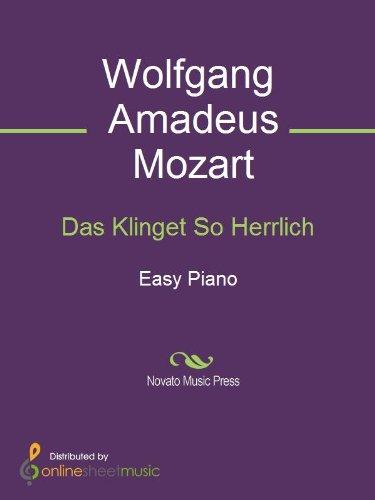 Das Klinget So Herrlich (English Edition)