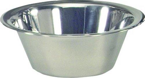 Krüger LUENING-0008 Schüssel Weiss, Edelstahl, Silber, 20 cm