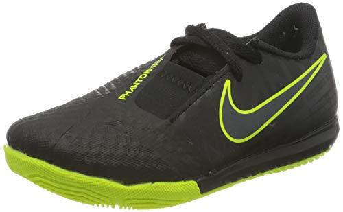 Nike Jr Phantom Venom Academy IC, Zapatillas de fútbol Sala Unisex niño, Multicolor (Black/Black/Volt 7), 27 EU