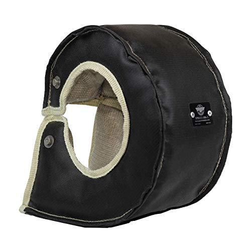 PTP T6 Turbo Blanket/Turbo Shield/Heat Shield - Black (FPRO35-006-03)