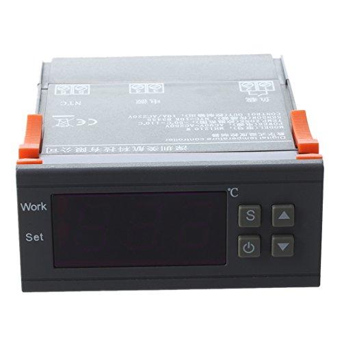 Sonline AC 90V-250V Digitale Temperaturregler Bildschirm MH1210W