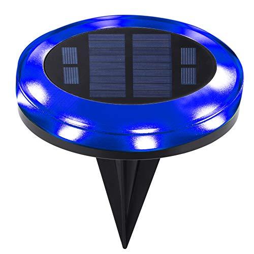 Fdit 12LED Solar Power Buried Light waterdichte ondergrondse gazonlamp in de vloer lamp voor outdoor-tuin gazon weg decoratie MEERWEG AANBIEDING 2#
