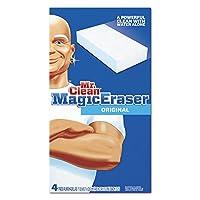 Mr。Clean 82027マジック消しゴムフォームパッド、22/ 5x 43/ 5、ホワイト、4/ボックス