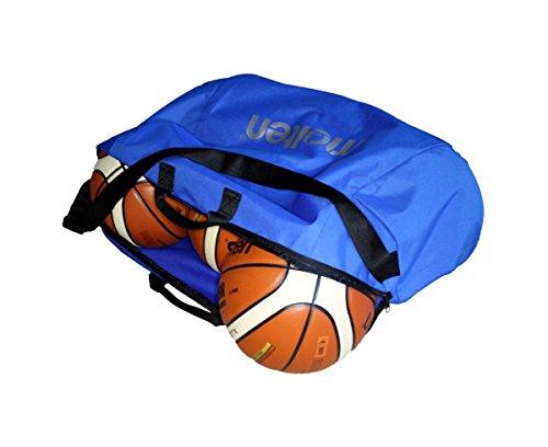 MOLTEN Profesional Bolsa de 6 Balones de Baloncesto, Unisex, Azul, Talla Única
