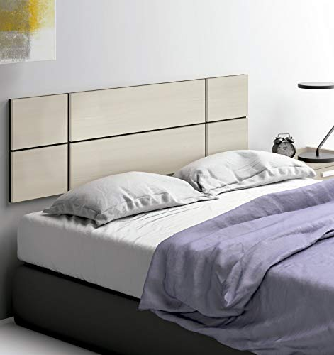 Pitarch Cabezal Cama Dormitorio Moderno Kala Color Pino cabecero habitación Matrimonio 150x50