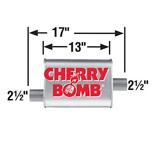 AP Exhaust Products AP16809CB Cherry Bomb Turbo Schalldämpfer