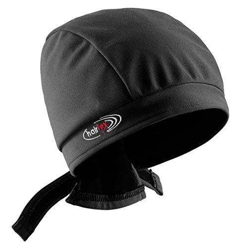 Stall-Mütze mit Bändern | schützt zuverlässig vor Stallgeruch | für jede Frisur und Haarlänge geeignet (schwarz, M)