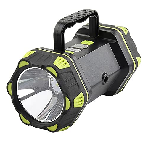 Linterna recargable LED linterna 90000LM ultra brillante luz de mano al aire libre antorcha de emergencia lámpara luz de trabajo con salida USB como banco de energía para accesorios de camping