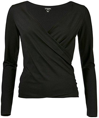 Golden Lutz - Damen Yoga-Jacke, Langarm (schwarz, XS - 32/34) | ESMARA