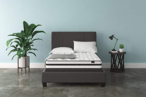 Signature Design by Ashley Chime 8 Inch Firm Hybrid Mattress - CertiPUR-US Certified Foam, Full