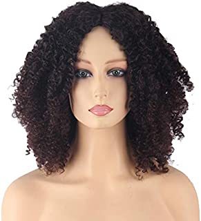 Synthetic African small volume wig