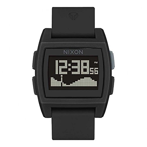 Nixon Reloj Digital Unisex con Correa de Caucho – A1104-001-00