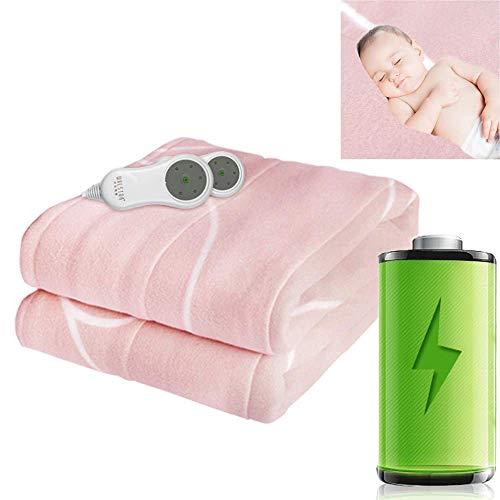 FGVBC Manta eléctrica Doble Individual, Mantas Gruesas para Invierno con termostato de...