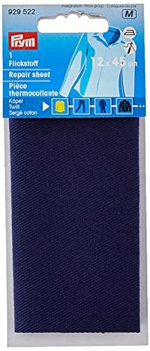 Prym Repair Sheet, Twill voor Strijken op 12×45 cm Blauw