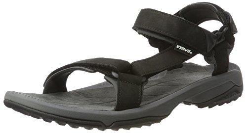 Teva Men's Terra Fi Lite Leather Sports and Outdoor Hiking Sandal, Black, 10 UK (44.5 EU)