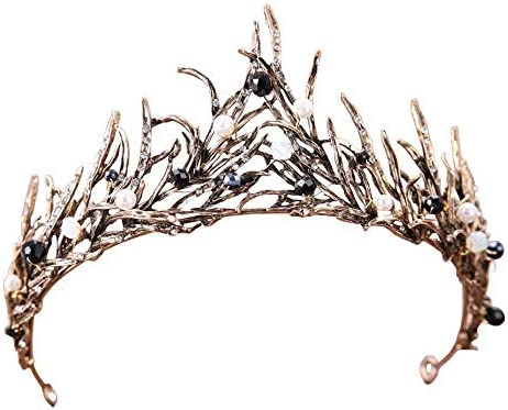 Crown Tiara BELLA BRIDAL Vintage Crystal Diamond Bride Bridal Wedding Hair Head Band Wear Rhinestone product image