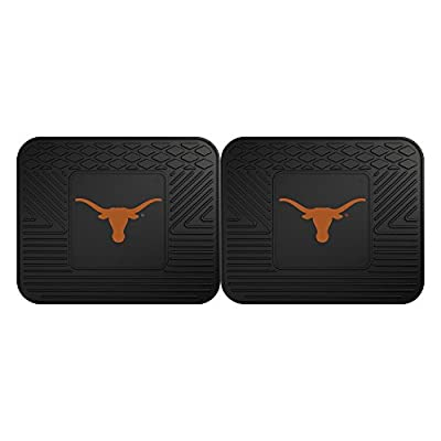 FANMATS 12300 University of Texas Utility Mat - 2 Piece