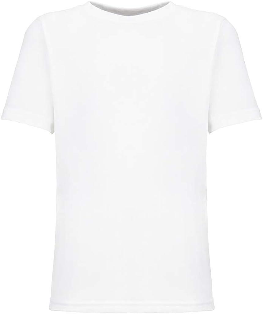 Next Level Kids CVC Crew Neck T-Shirt White M