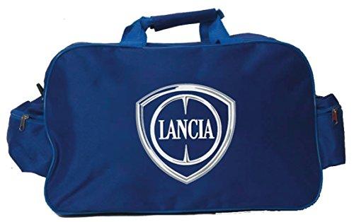 Lancia Logo Sporttasche Leichte Seesack Reisegepaeck Duffel Wochenende Uebernachtung Taschen fuer Reisen Sport Gym Urlaub