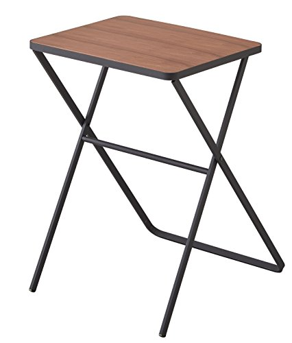 山崎実業 テーブル 折り畳みテーブル タワー ブラック 3423