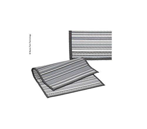 RTENT Markisen- oder Zeltteppich Villa Stripe 2,5x3,9m 100% PP inkl. Transporttasche