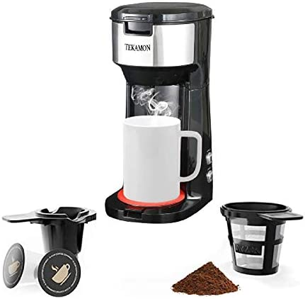 Single Serve Coffee Maker For K Cup Pods Ground Coffee Compact Design Thermal Drip Instant Coffee product image