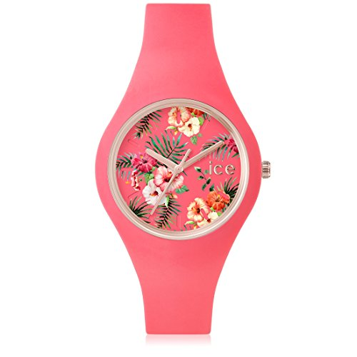 Ice-Watch - ICE flower Delicious - Women's wristwatch with silicon strap - 001306 (Medium)