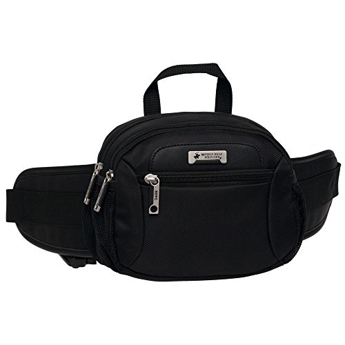 Beverly Hills Polo Club Sac Banane Sport, 20 cm, Noir