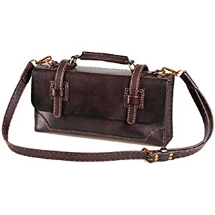 Xuanbao Retro Leather Tanned Leather Handmade Leather Handbag Messenger Bag Tote Bag