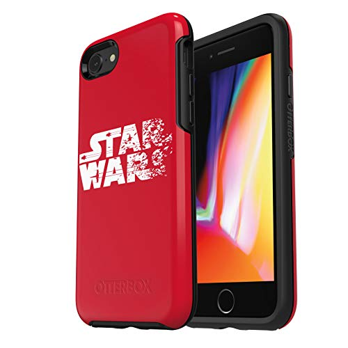 OtterBox SYMMETRY SERIES STAR WARS Case for iPhone SE (2nd gen - 2020) and iPhone 8/7 (NOT PLUS) - Retail Packaging - Resistance Red