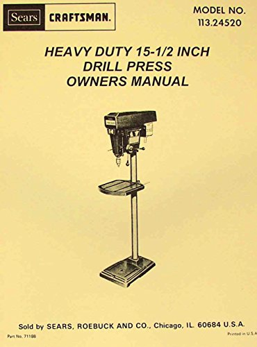 Top 10 best selling list for craftsman 15 inch drill press