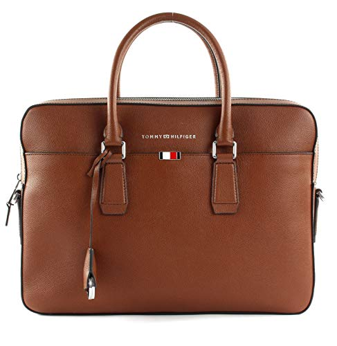 Tommy Hilfiger Business Slim Computerbag Cognac