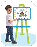 Dhyani Enterprise Magnetic Writing Activity Easel Board Magnetic Writing Board for Learning Activity